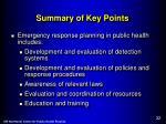 summary of key points1