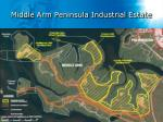 middle arm peninsula industrial estate