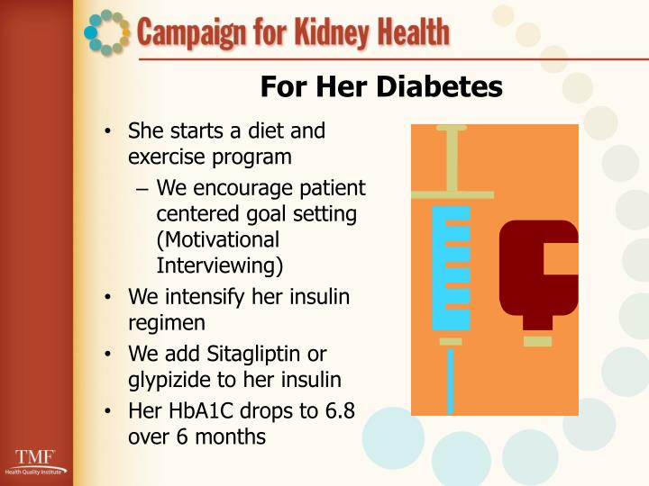 For Her Diabetes