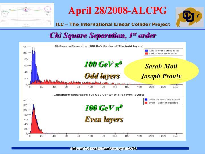 Chi Square Separation, 1