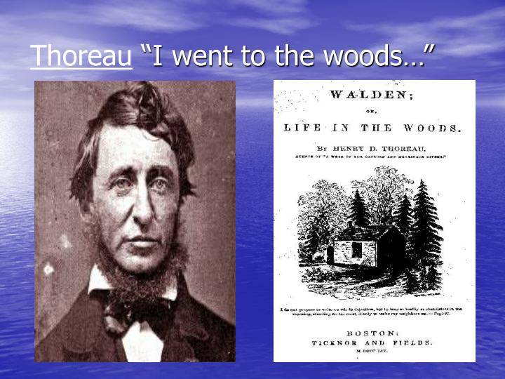 emerson and thoreau two idealists The ralph waldo emerson house is a house museum located  idealists, and poets emerson remained in the house for  thoreau later built his well-known cabin on.
