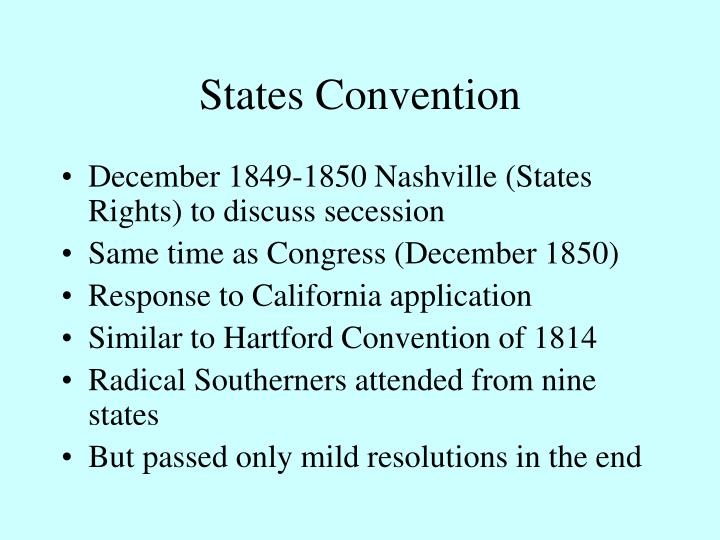 States Convention