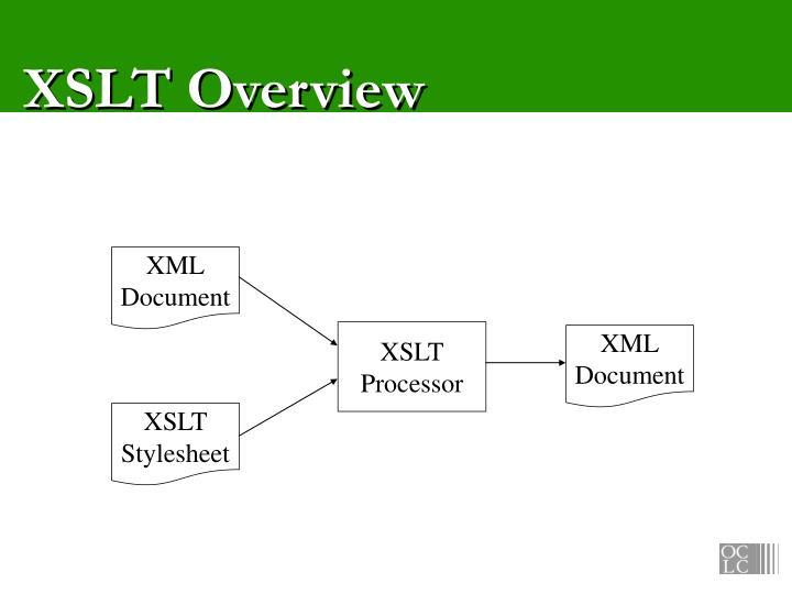 XSLT Overview