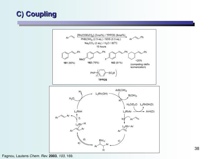 C) Coupling