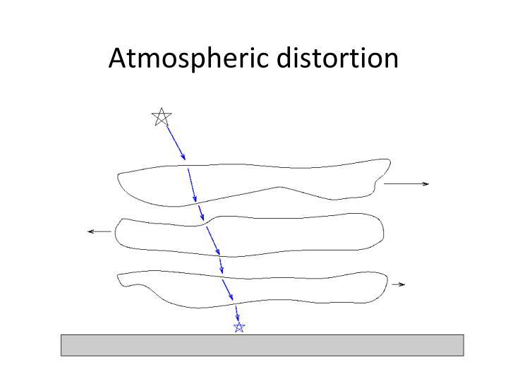 Atmospheric distortion