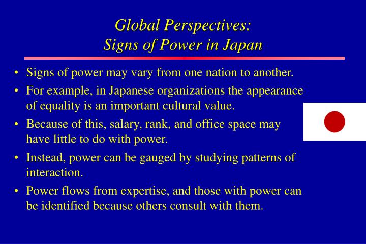 Global Perspectives: