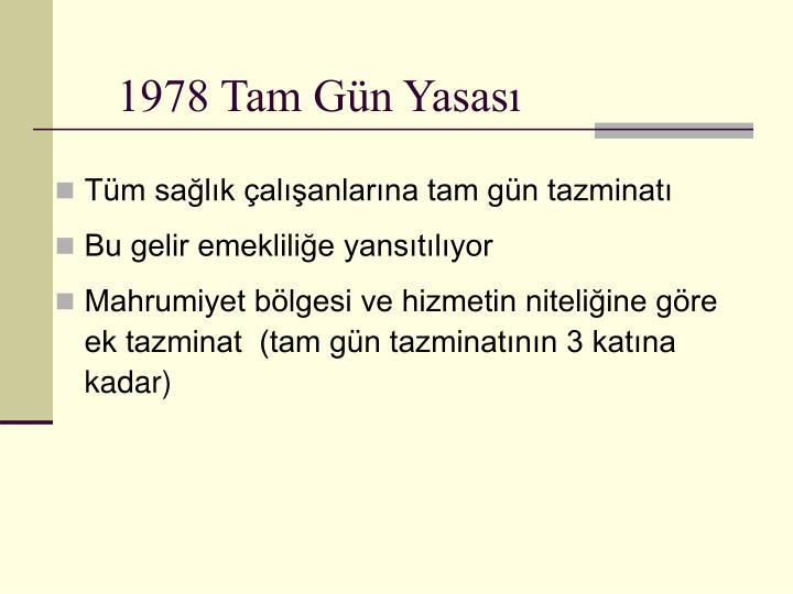 1978 Tam Gün Yasası