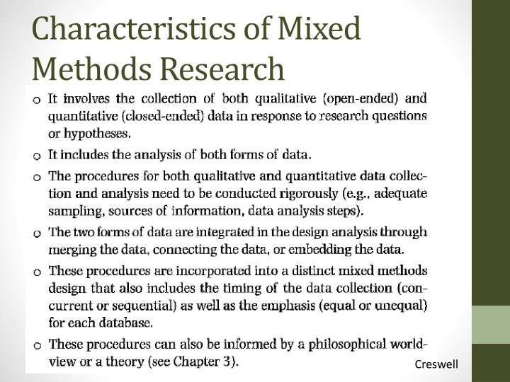 what are the characteristics of quantitative research Qualitative research design is a research whether this is quantitative or qualitative depends on the research attributes and characteristics of phenomenon.