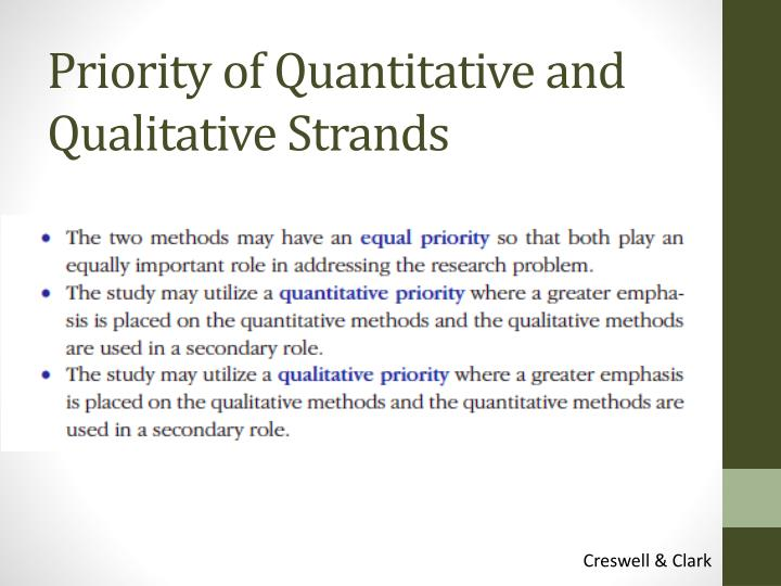 qualitative and quantitative methods for endoparasite Describes what we mean by quantitative research methods very well: would seem that quantitative and qualitative research methods are pretty incompatible.