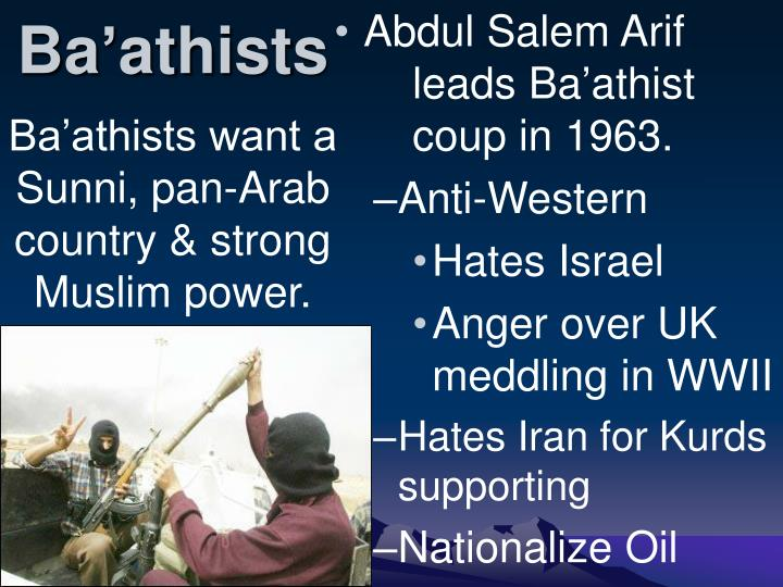 Ba'athists