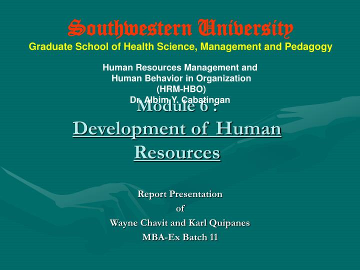 hbo human behavior organization Hospital educational institution graduate school department master of science in nursing course title: human behavior in organization topic: nature &amp scope of human behavior in organization (hbo) key behavioral science assumptions reporter: khimberly l macapagal, rn schedule: msn i-b 7:30-5:00pm importance of hbo.