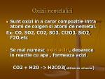 oxizii nemetalici