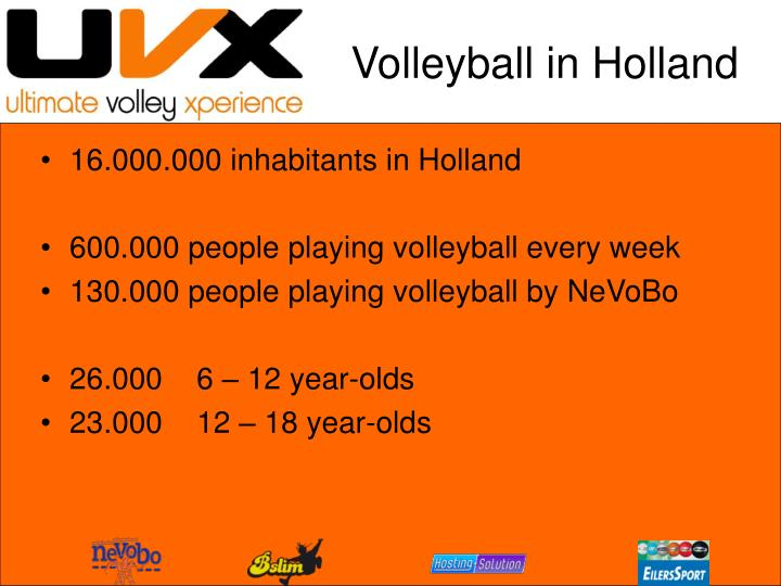 Volleyball in holland