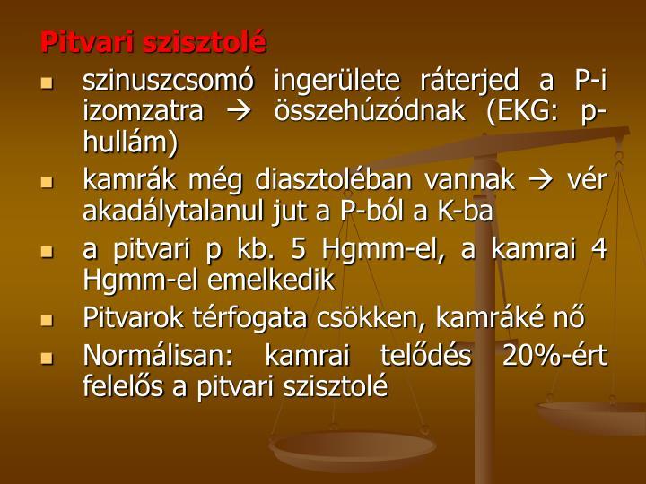Pitvari szisztolé