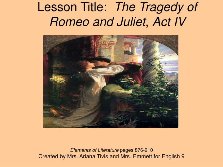 an analysis of the summary of the tragedy of romeo and juliet We will look at the prologue of ''romeo and juliet'' in this lesson and discuss the basics of prologue of romeo and juliet: summary & analysis tragedy.