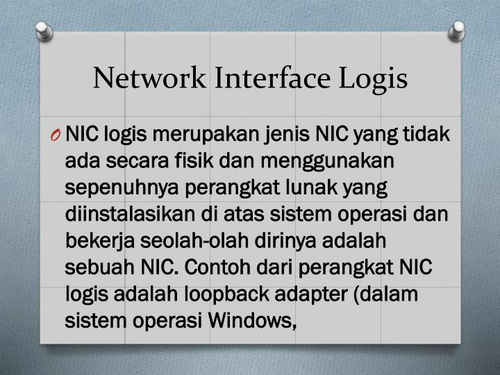 Network Interface Logis