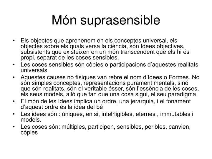 Món suprasensible
