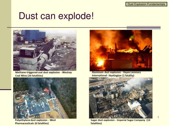 dust can explode n.