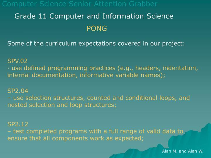 computer information science essay Database of free computer science essays - we have thousands of free essays across a wide range of subject areas sample computer science essays.