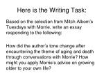here is the writing task