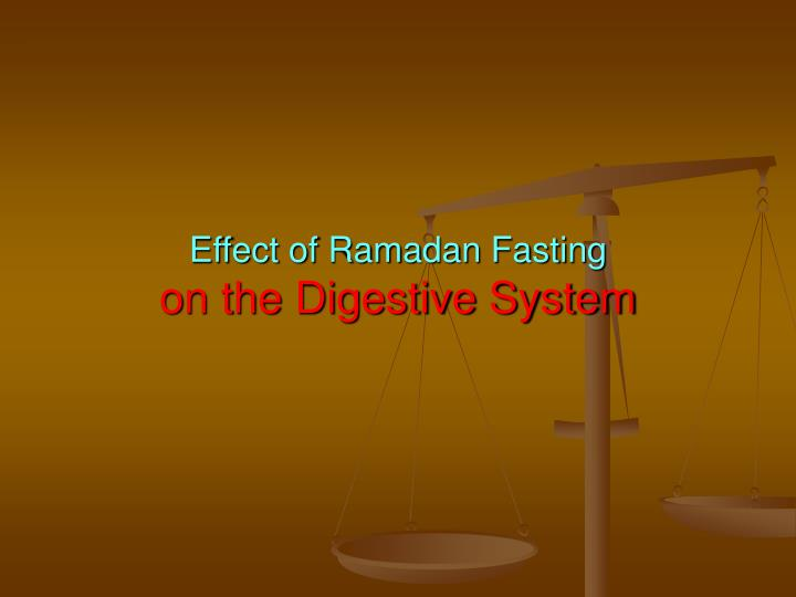 ppt - effect of ramadan fasting on the digestive system powerpoint, Powerpoint templates