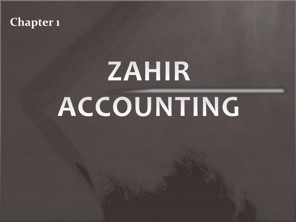 Ppt Zahir Accounting Powerpoint Presentation Id 5535772