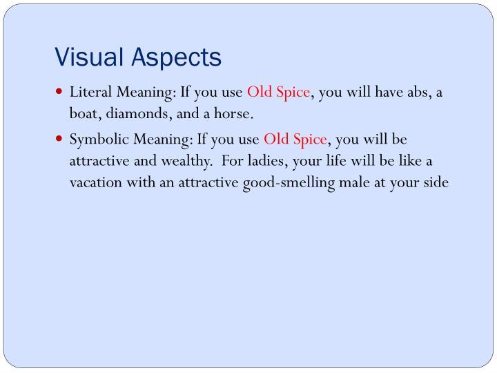 Visual Aspects