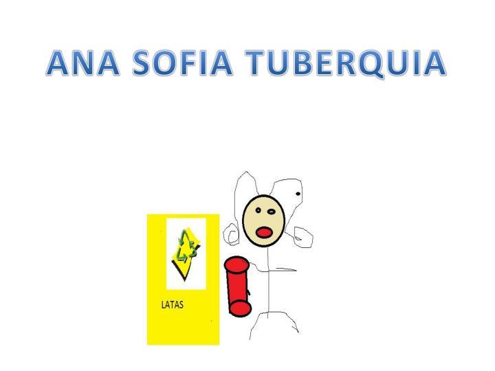 ANA SOFIA TUBERQUIA