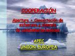 cooperaci n