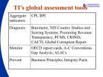 ti s global assessment tools
