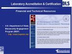 laboratory accreditation certification11