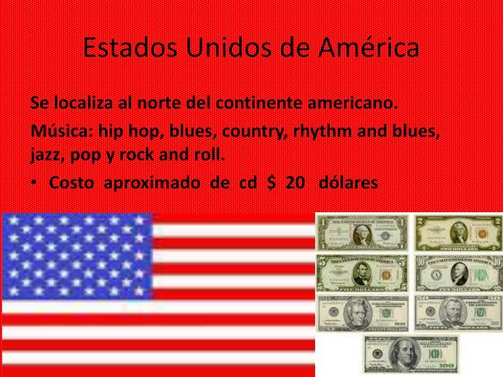 Estados unidos de am rica