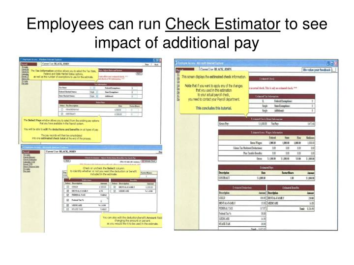 Employees can run