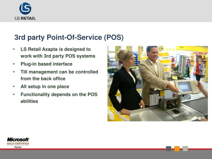 3rd party Point-Of-Service (POS)