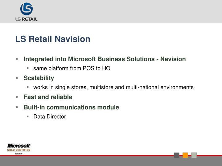 LS Retail Navision