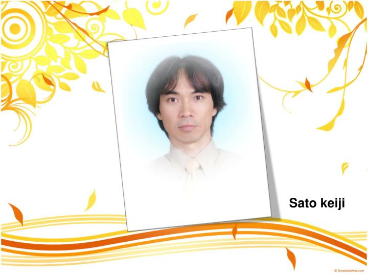 Sato keiji