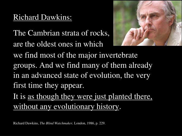 Richard Dawkins: