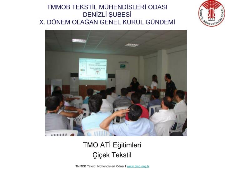 TMMOB TEKSTİL MÜHENDİSLERİ ODASI