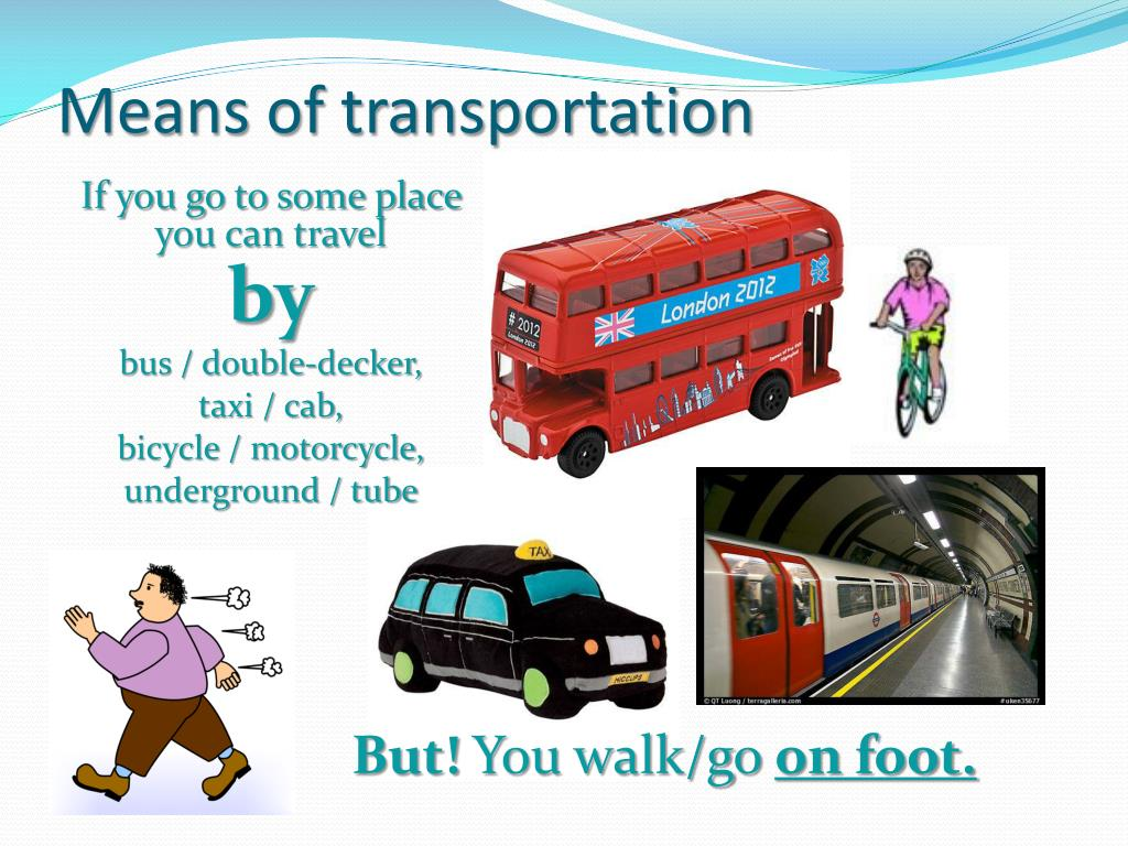ppt means of transportation powerpoint presentation id 5537921