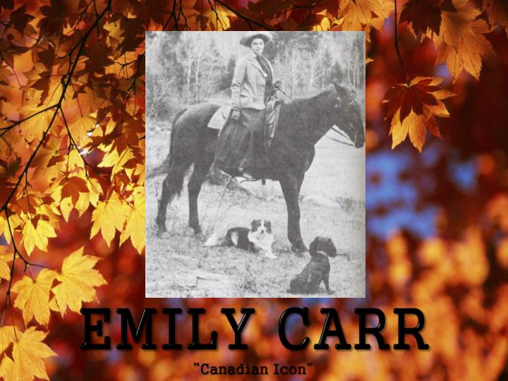 Emily carr canadian icon