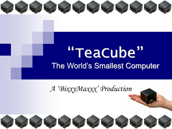 teacube the world s smallest computer n.