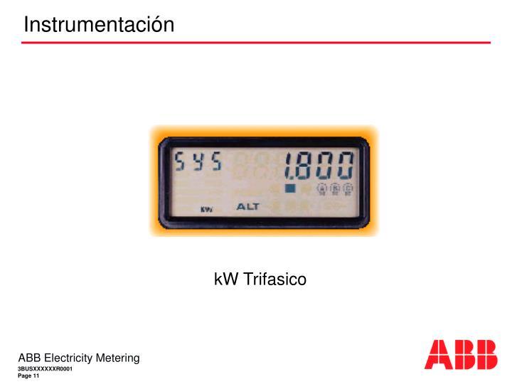 kW Trifasico