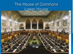 the house of commons lower house
