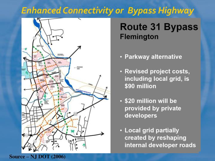 Enhanced Connectivity or  Bypass Highway