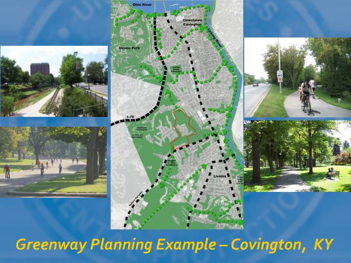 Greenway Planning Example – Covington,  KY
