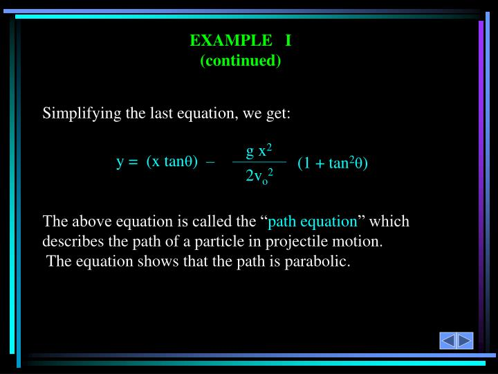 Simplifying the last equation, we get: