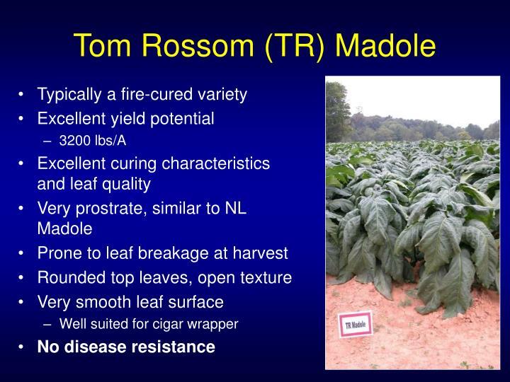 Tom Rossom (TR) Madole