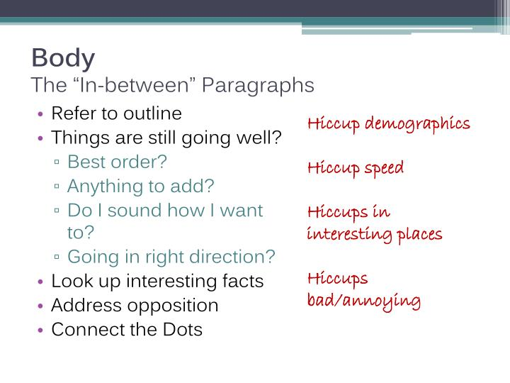 difference between paragraph and essay ppt