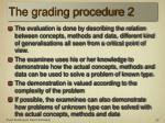 the grading procedure 2