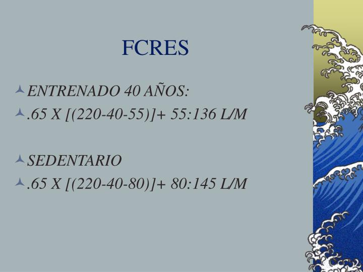 FCRES